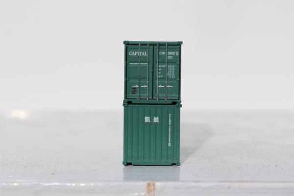 CAPITAL 20' Std. height containers with Magnetic system, Corrugated-side. JTC-205317