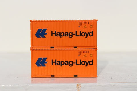 HAPAG-LlOYD 20' Std. height containers with Magnetic system, Corrugated-side. JTC-205324