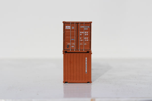 IVARAN 20' Std. height containers with Magnetic system, Corrugated-side. JTC-205358