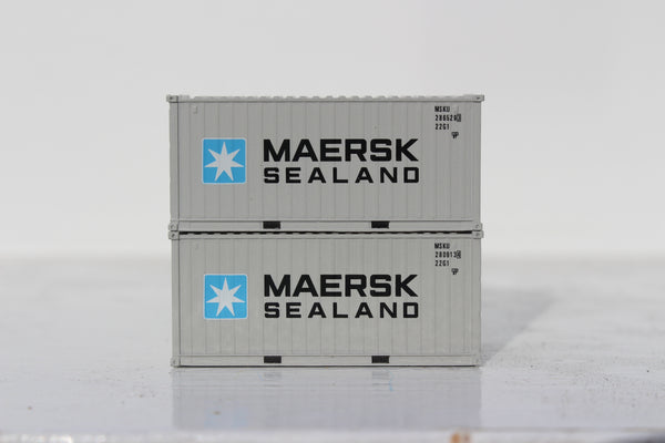 MAERSK SEALAND 20' Std. height containers with Magnetic system, Corrugated-side. JTC-205334