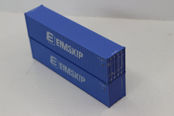 EIMSKIP 40' HIGH CUBE containers with Magnetic system, Corrugated-side. JTC # 405137