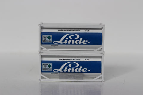 Linde 20' Standard Tank Container ( NO walkway) 205215