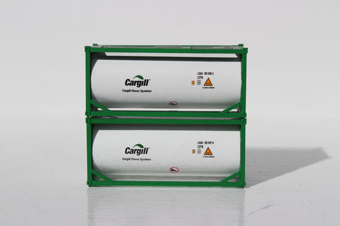 CARGILL 20' Standard Tank Container ( Full length 3/4 around walkway) 205213