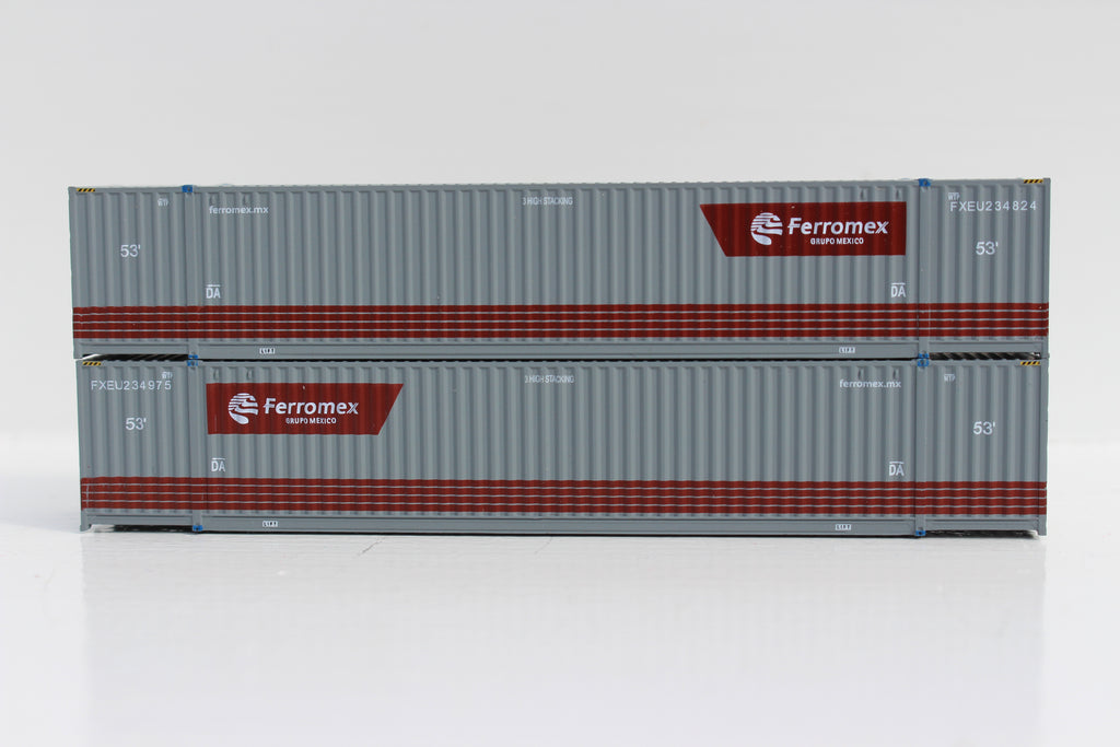 FERROMEX 53' HIGH CUBE 6-42-6 corrugated containers with Magnetic system. JTC # 535043