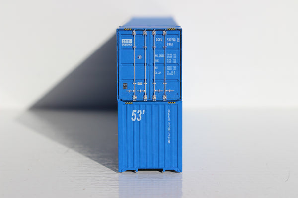 OCEANEX 53' HIGH CUBE 6-42-6 corrugated containers with Magnetic system. JTC # 535010