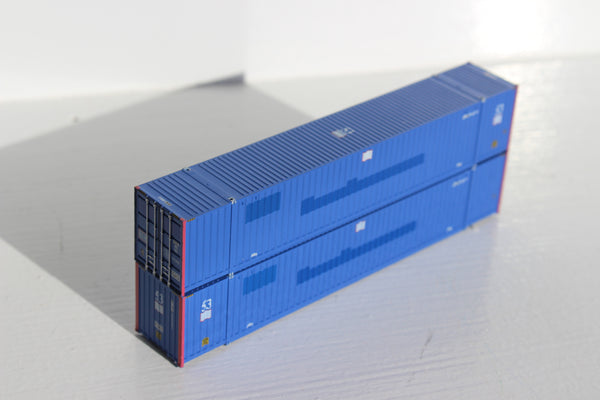 MILESTONE 53' HIGH CUBE 6-42-6 corrugated containers with Magnetic system. JTC # 535038
