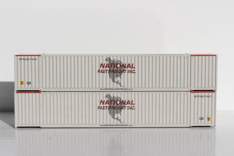 NFF 53' HIGH CUBE 6-42-6 corrugated containers with Magnetic system. JTC # 535056