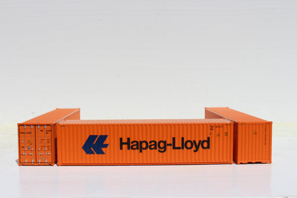 HAPAG-LlOYD 40' HIGH CUBE containers with Magnetic system, Corrugated-side. JTC # 405111