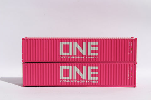 "ONE (magenta)- JTC # 405313 40' Standard height (8.6"") corrugated side steel containers SOLD OUT"