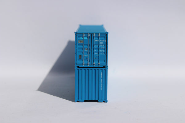 "BEACON (blue patch) - JTC # 405318 40' Standard height (8'6"") corrugated side steel containers"
