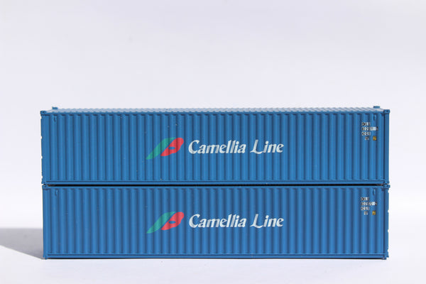 "CAMELLIA LINE - JTC # 405316 40' Standard height (8.6"") corrugated side steel containers"