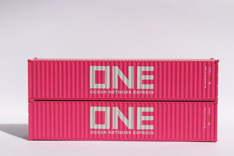 "ONE (magenta)- JTC # 405324 40' Standard height (8'6"") corrugated side steel containers"