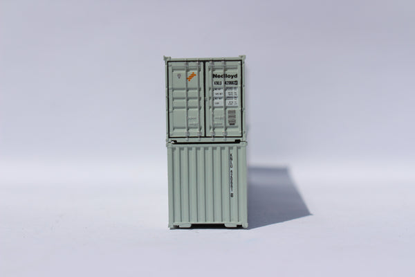 "NEDLlOYD (gray)- JTC # 405315 40' Standard height (8.6"") corrugated side steel containers"