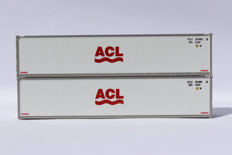 "ACL 40' Standard height (8'6"") Smooth-side containers . JTC # 405651"