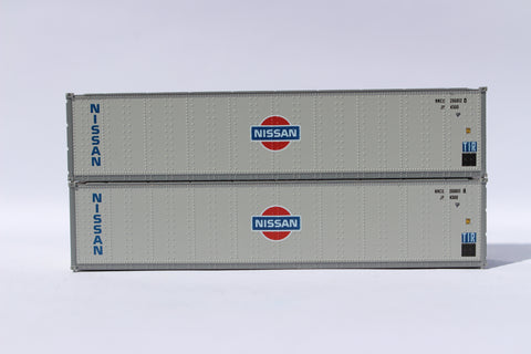 "405660 NISSAN 40' Standard height (8'6"") Smooth-side containers ."