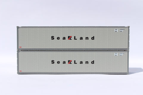 "405662 SEALAND 40' Standard height (8'6"") Smooth-side containers ."