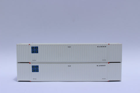 NACS 53' HIGH CUBE, 6-42-6 corrugated containers with Magnetic system, Corrugated-side. JTC #535046