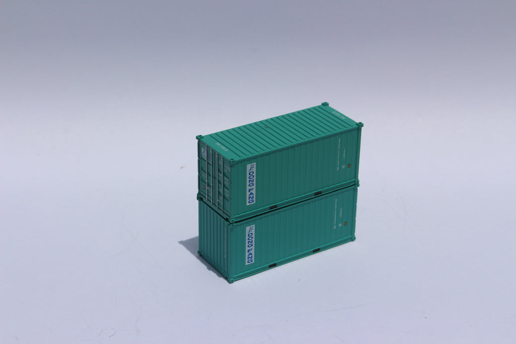 DONG FANG 20' Std. height containers with Magnetic system, Corrugated-side. JTC-205337