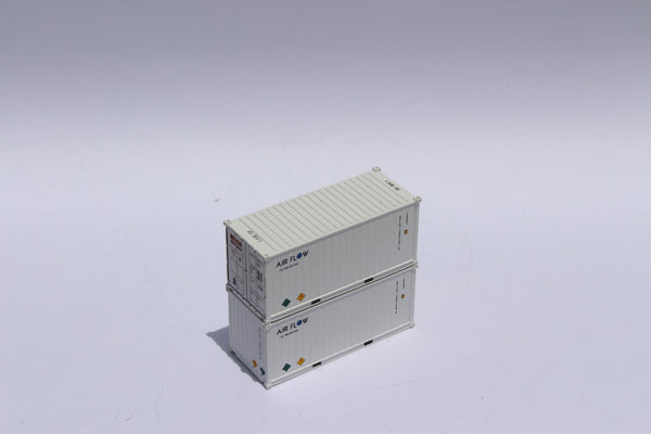 AIR FLOW 20' Std. height containers with Magnetic system, Corrugated-side. JTC-205357
