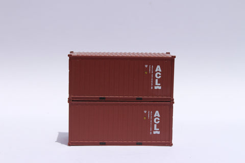 ACL 20' Std. height containers with Magnetic system, Corrugated-side. JTC-205318