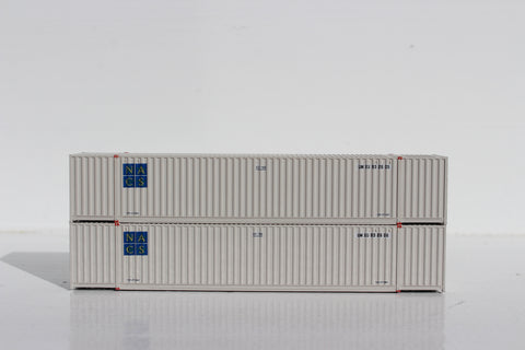 UMXU- UMAX PATCH of a faded ex-NACS 53' HIGH CUBE, 6-42-6 corrugated containers with Magnetic system, Corrugated-side. JTC #535039