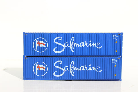 SAFMARINE– 40' HIGH CUBE containers with Magnetic system, Corrugated-side. JTC # 405062