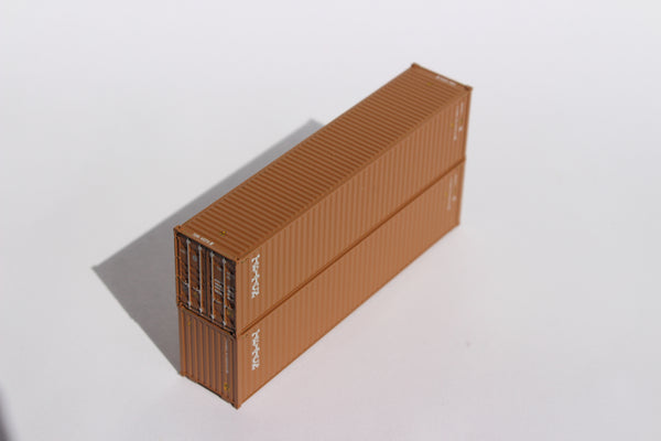 TRITON – 40' HIGH CUBE containers with Magnetic system, Corrugated-side. JTC # 405049