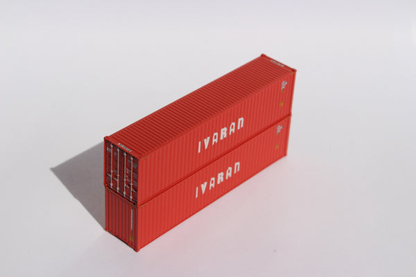 IVARAN– 40' HIGH CUBE containers with Magnetic system, Corrugated-side. JTC # 405058