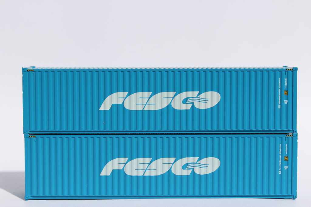 FESCO– 40' HIGH CUBE containers with Magnetic system, Corrugated-side. JTC # 405087