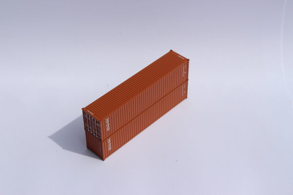 "TRITON JTC # 405317 40' Standard height (8'6"") corrugated side steel containers"