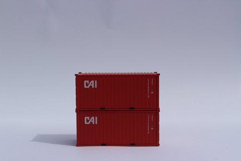 CAI 20' Std. height containers with Magnetic system, Corrugated-side. JTC-205330