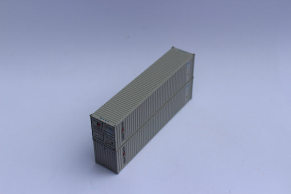 "SEALAND - JTC # 405501 40' Standard height (8'6"") corrugated PANEL side steel containers"