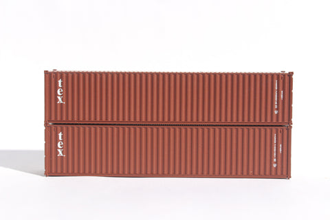 TEX  40' Std. height containers with Magnetic system, Corrugated-side. JTC-405327
