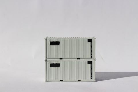 USAU Gray patch 'A', MILITARY SERIES 20' Std. height containers with Magnetic system, JTC-205454