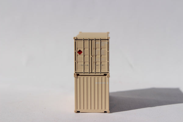 USFU, (US Air Force)  MILITARY SERIES 20' Std. height containers with Magnetic system, JTC-205453