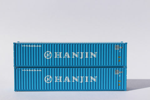 "HANJIN 40' Std. (8'6"") corrugated Panel side containers JTC # 405320"