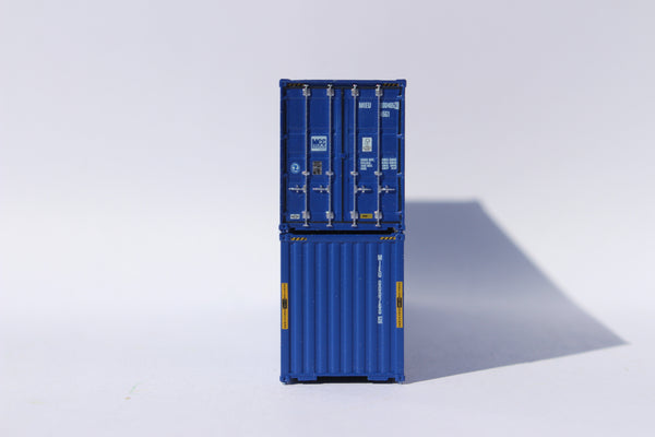 MCC Transport 40' HIGH CUBE containers, Corrugated-side. JTC# 405115