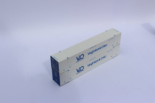 """VS"" V & O 53' HIGH CUBE 6-42-6 corrugated containers. JTC# 535086"