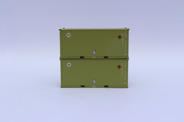 205456 USMC Military (Marines)  MILITARY SERIES 20' Std. height containers with Magnetic system, JTC-205456