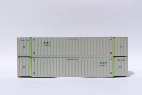 COFC LOGISTICS 53' HIGH CUBE 8-55-8 corrugated containers with Magnetic system, Corrugated-side. JTC # 537007