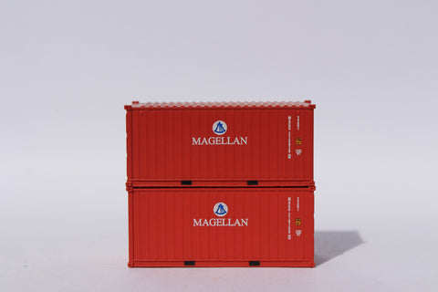 MAGELLAN 20' Std. height containers with Magnetic system, Corrugated-side. JTC-205383