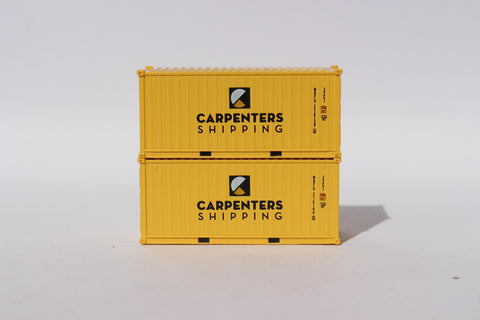 CARPENTERS SHIPPING 20' Std. height containers with Magnetic system, Corrugated-side. JTC-205429