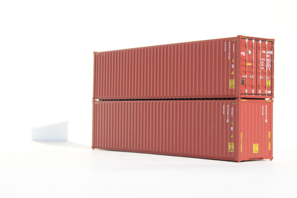 CP SHIPS 40' HIGH CUBE containers with Magnetic system, Corrugated-side. JTC# 405005