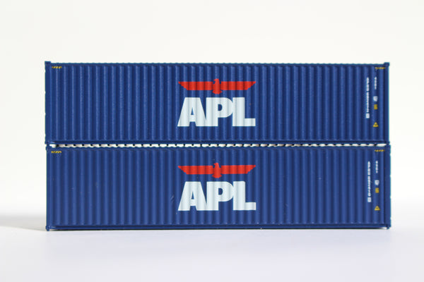 APL 40' HIGH CUBE containers with Magnetic system, Corrugated-side. JTC # 405003 SOLD OUT