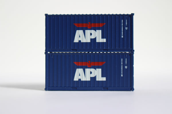 APL 20' Std. height containers with Magnetic system, Corrugated-side. JTC-205301 SOLD OUT