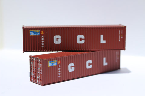 BEACON / GCL 40' HIGH CUBE containers with Magnetic system, Corrugated-side. JTC# 405032