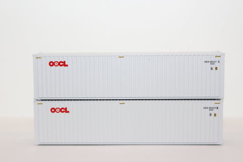OOCL  40' HIGH CUBE containers with Magnetic system, Corrugated-side. JTC # 405008 SOLD OUT