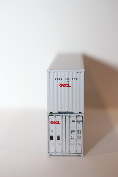 OOCL  40' HIGH CUBE containers with Magnetic system, Corrugated-side. JTC # 405008