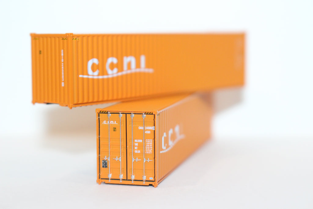 CCNI  40' HIGH CUBE containers with Magnetic system, Corrugated-side. JTC # 405006