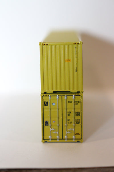 MSC 40' HIGH CUBE containers with Magnetic system, Corrugated-side. JTC # 405004 SOLD OUT
